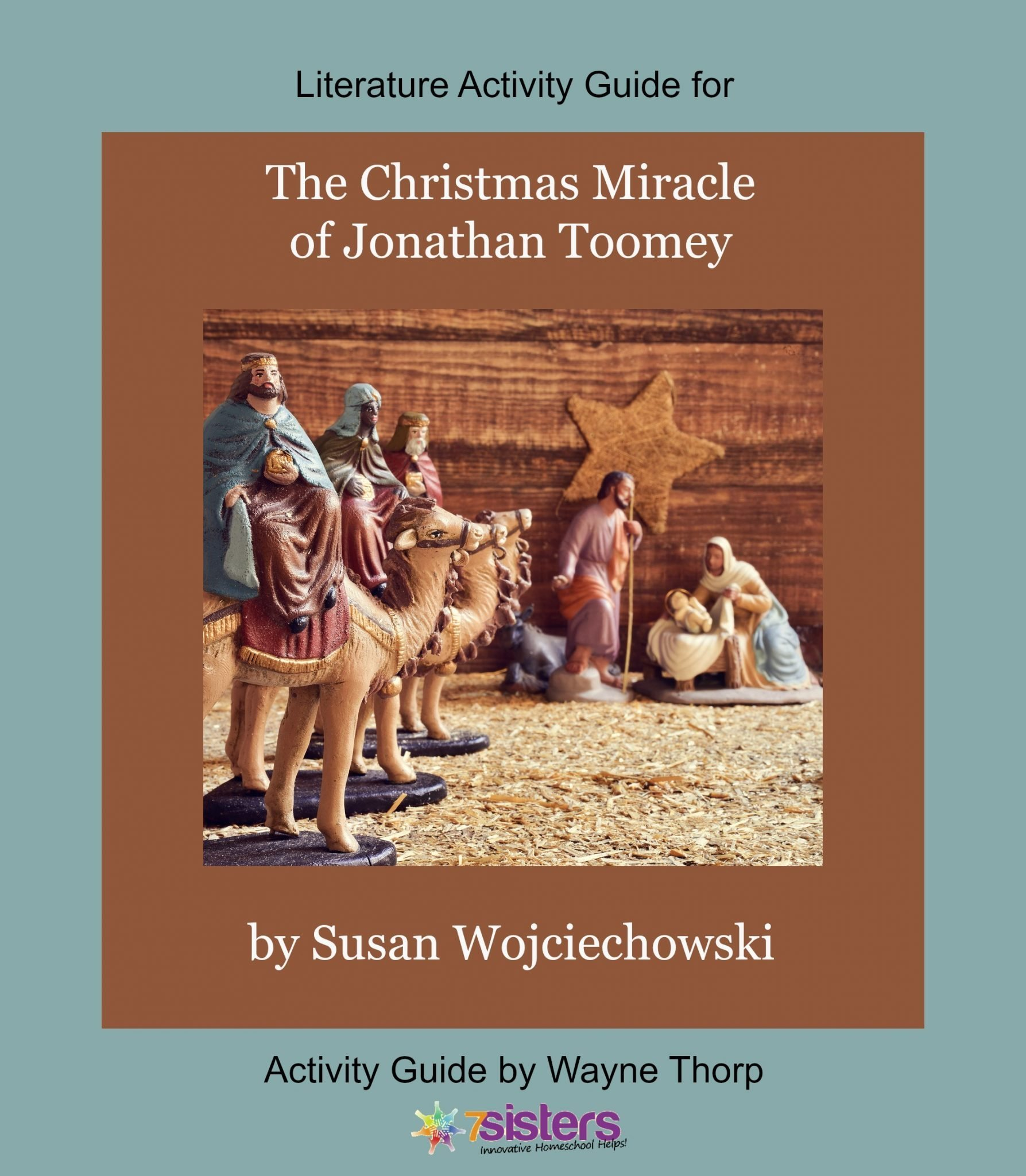 The Christmas Miracle Of Jonathan Toomey.Activity Guide The Christmas Miracle Of Jonathan Toomey Literature Activity Guide 7sistershomeschool Com