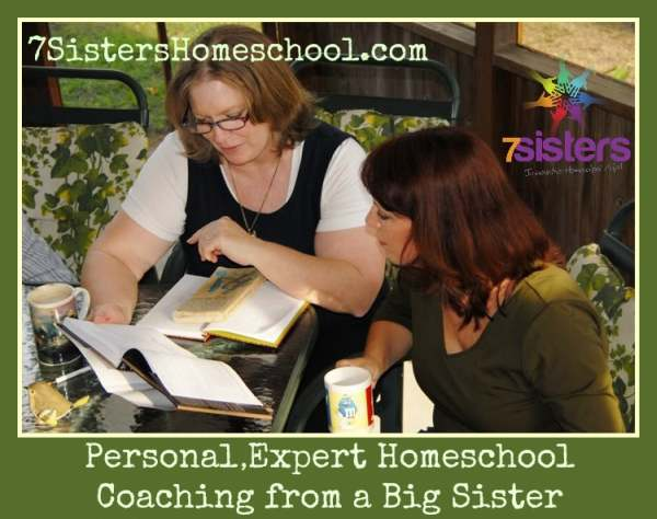 Homeschool Coaching from 7SistersHomeschool.com
