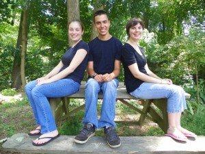 Kyle, Kaitlyn, and Hannah