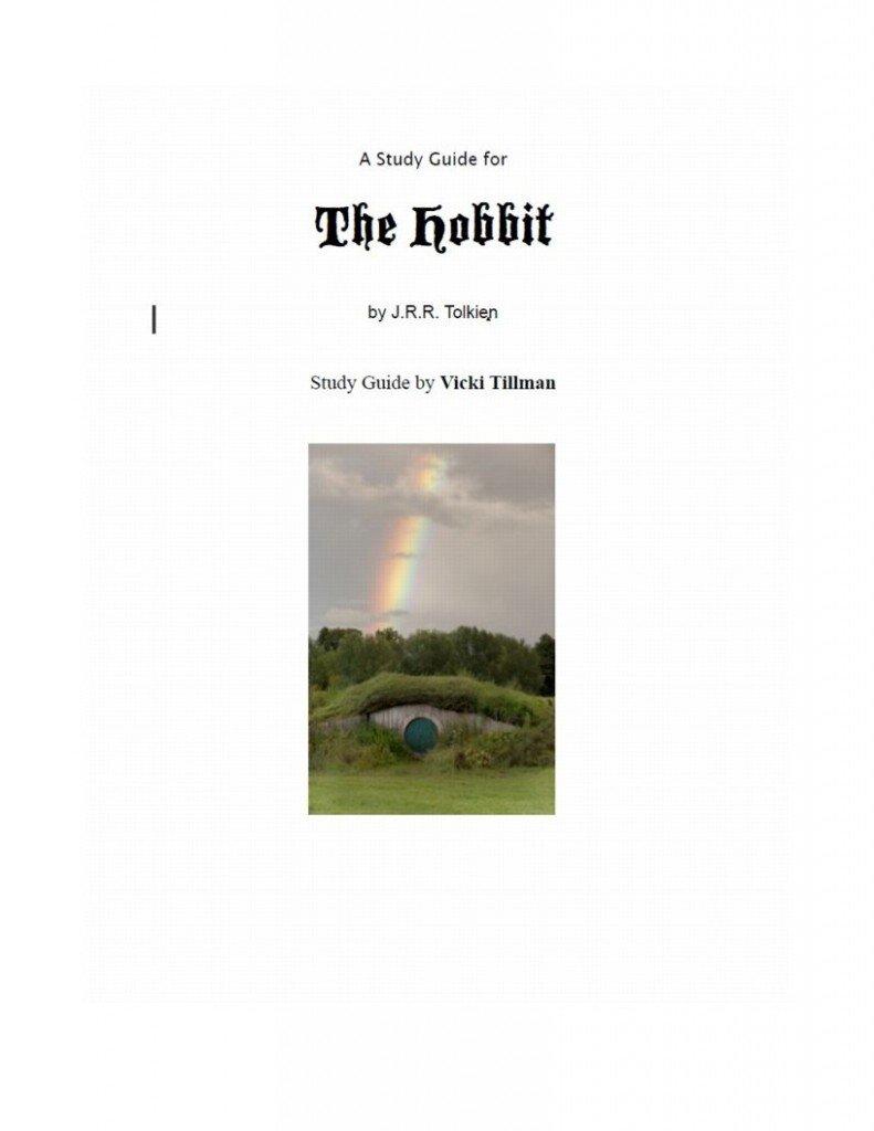 Hobbit Worksheets - woojr.com
