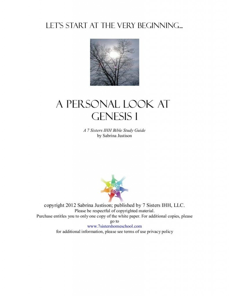 Genesis Study Guide - ttb.org