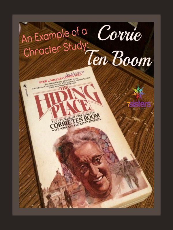 An example of a Character Study Corrie Ten Boom