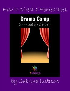 How to Direct a Homeschool Drama Camp - even if you are a novice director!