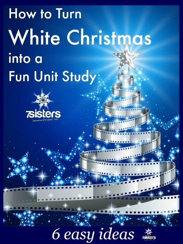 Here are 6 ways to turn favorite Christmas dvds for homeschoolers like White Christmas into a unit study!