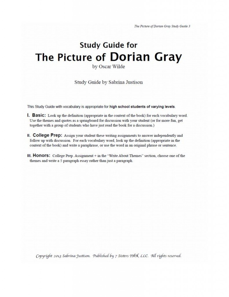 analysis of dorian gray To properly analyze the character of dorian gray it must first be understood that  there is a distinct difference between someone who lacks morals and someone.