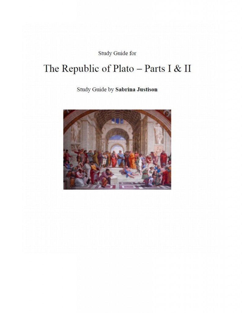 a paper on platos republic In the first book of the republic socrates considers two ways of pursuing the inquiry they could, he says at 348 a-b, adopt the procedure of the courts of law this would involve a speech from socrates, followed by a speech from thrasymachus, his opponent, then a chance for socrates to reply again.