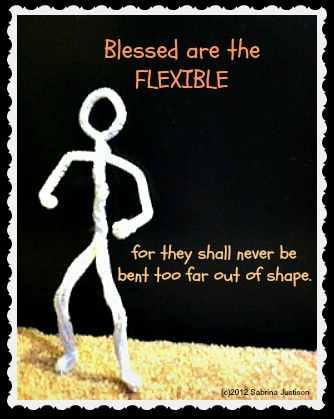 blessedaretheflexible