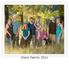 Wes Olson and his homeschooling family