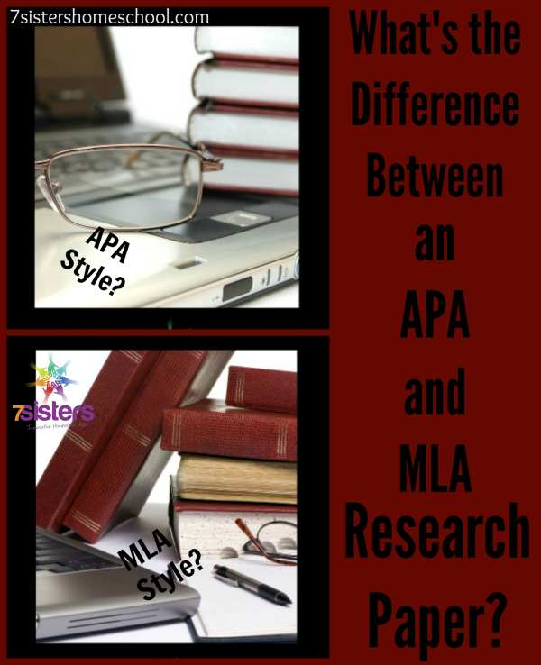 What is the difference between APA and MLA Research Papers?