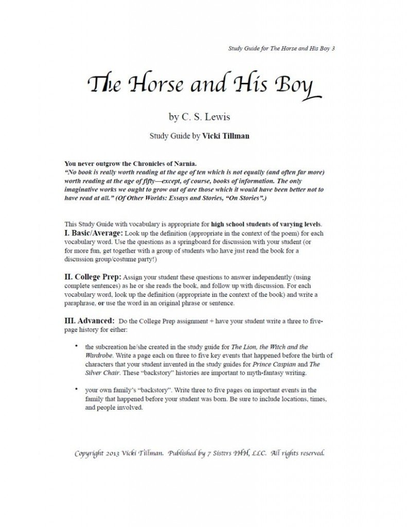 """a literary analysis of the horse and his boy Literary analysis of james joyces araby english literature essay  the boy allows the araby of his mind's eye to """"cast an eastern enchantment over him ."""