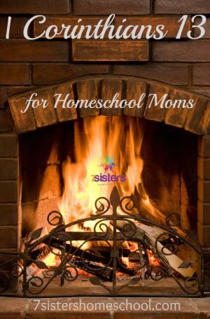 I Corinthians 13 for Homeschool Moms
