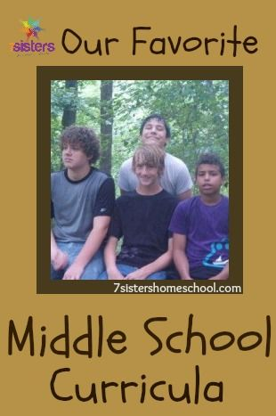Our favorite middle school curriculu