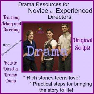 Homeschool Drama Resources from 7SistersHomeschool.com
