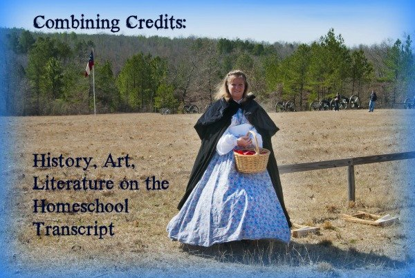 Combining Credits History, Art, Literature on the Homeschool Transcript