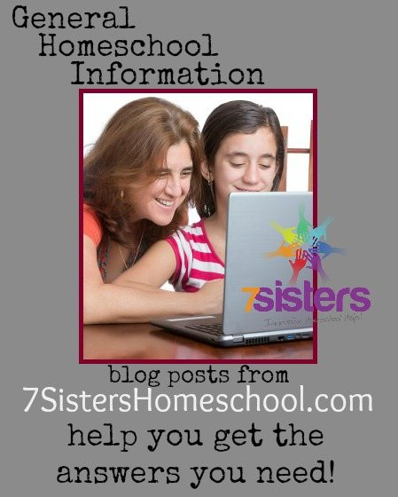 Homeschool Community: General Homeschool Information from 7SistersHomeschool.com