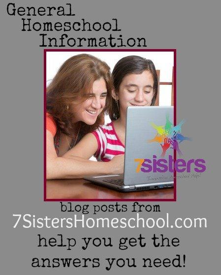 Homeschool Community: General Homeschool Information from 7SistersHomeschool.com
