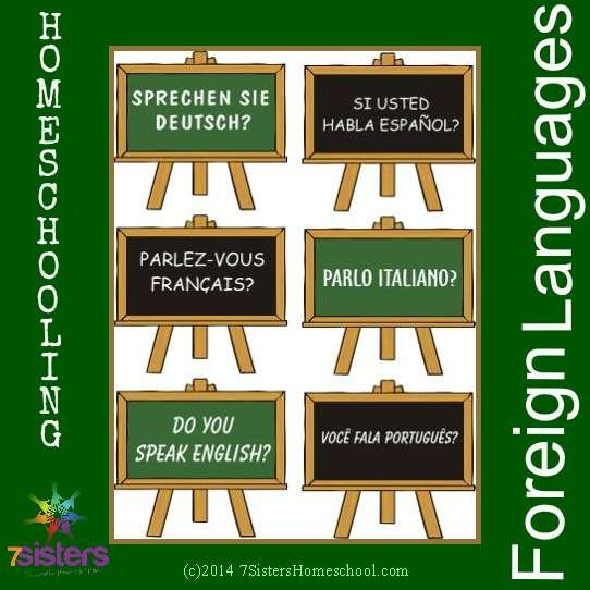 Posts about Homeschooling Foreign Languages from 7SistersHomeschool.com