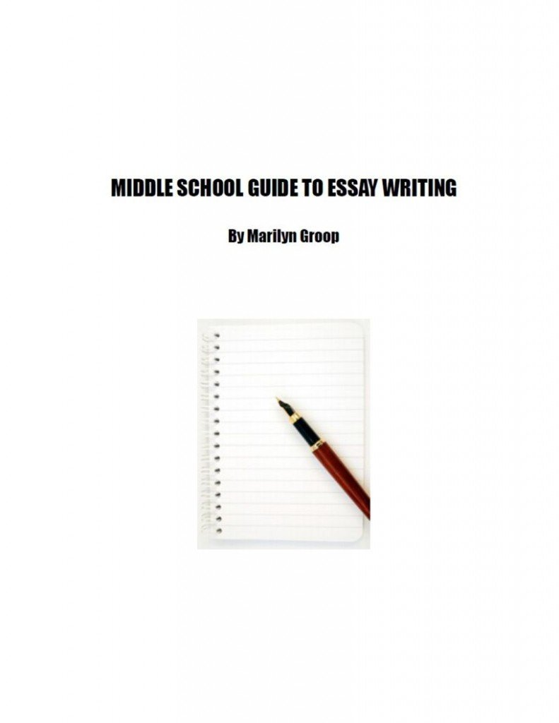 excerpt from middle school essay writing guide  excerpt from middle school essay writing guide com