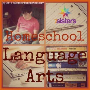 Homeschool Language Arts 7SistersHomeschool.com