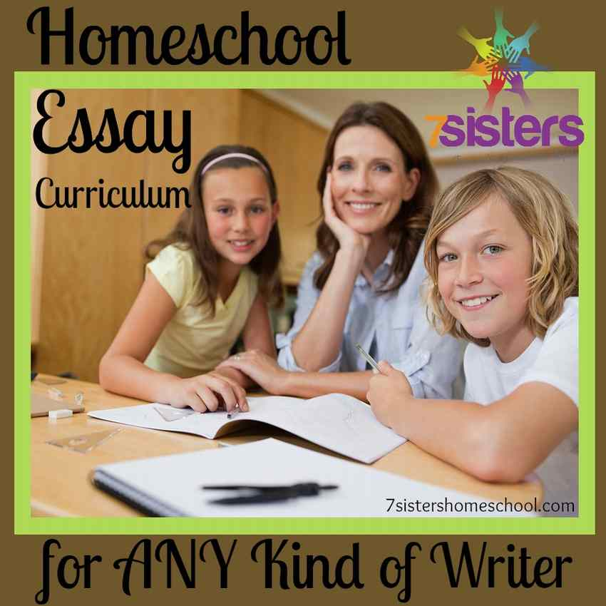 Homeschool Essay Curriculum
