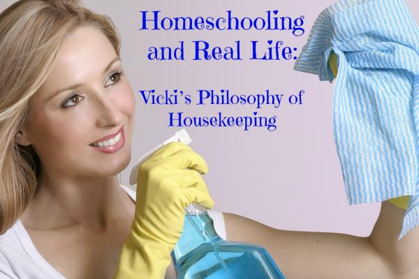 Homeschool Help Housekeeping