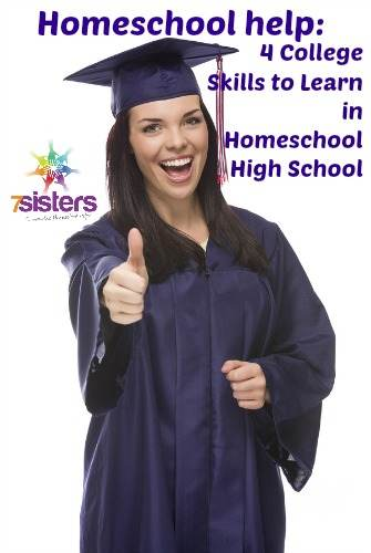 College Skills to Learn in Homeschool High School
