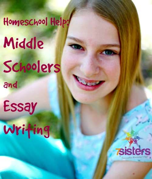 middle school essay writing help for your homeschool  middle school essay writing help