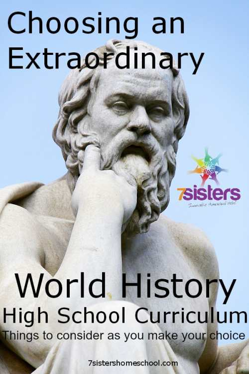 world history homeschool curriculum