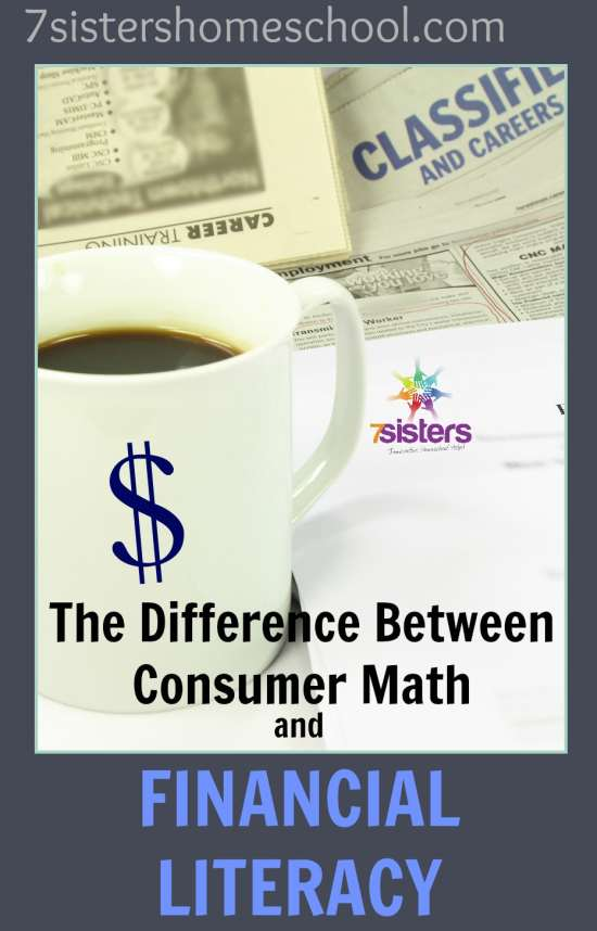 Consumer Math Financial Literacy