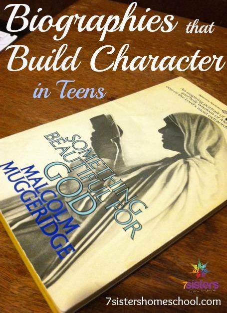 Biographies that Build Character in Teens