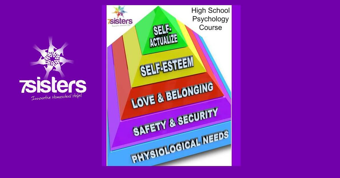 God is a Psychologist, so Your Teen Should Like Psych - Why Take a Christian High School Psychology Course 7SistersHomeschool.com There are so many life skills in a good Psychology course.