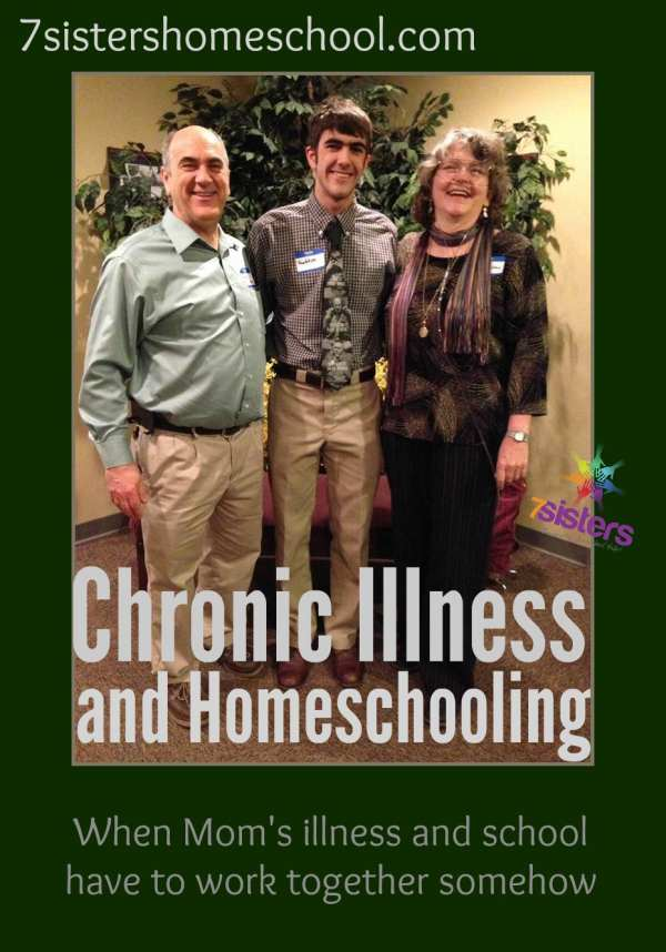 Chronic Illness and Homeschooling - When Mom is Sick