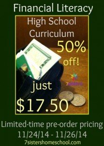 Half Price for a Limited Time - Financial Literacy High School Curriculum
