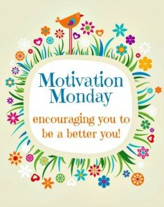 Happy to Link up to Motivation Monday today!