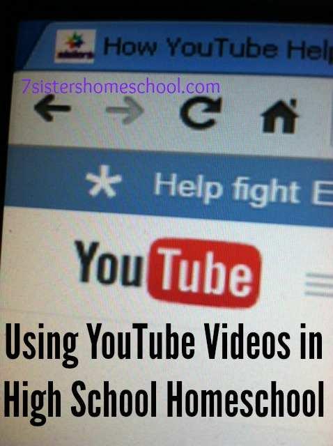 Using YouTube Videos in High School Homeschool