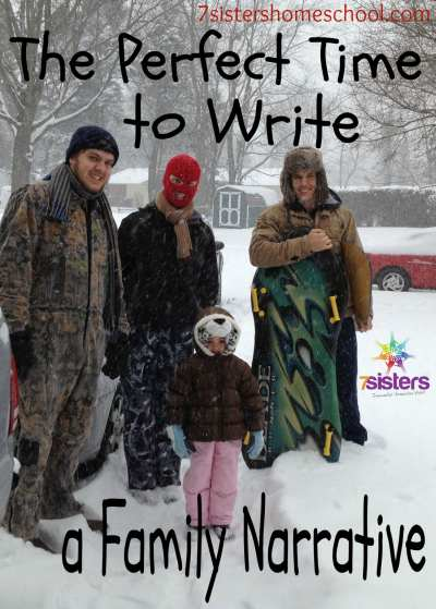 The Perfect Time to Write a Family Narrative