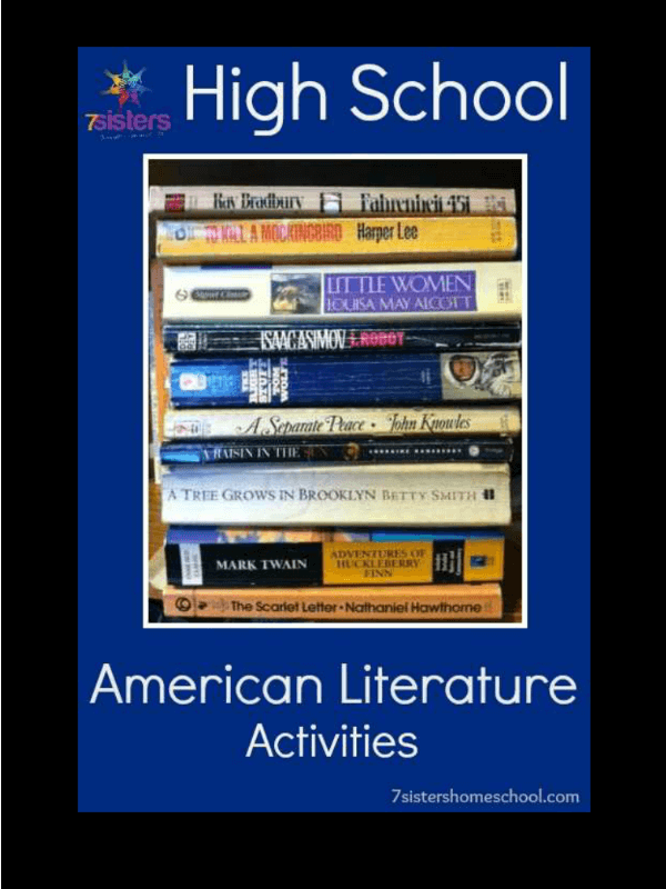 High School American Literature Activities