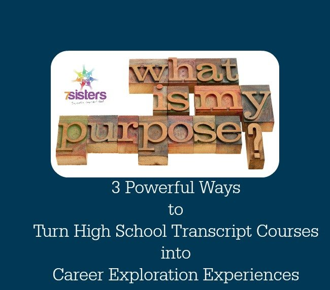 3 Powerful Ways to Turn High School Transcript Courses into Career Exploration Experiences