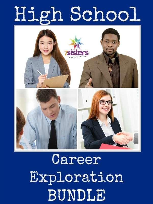 High School Career Exploration Bundle - a comprehensive curriculum for teens