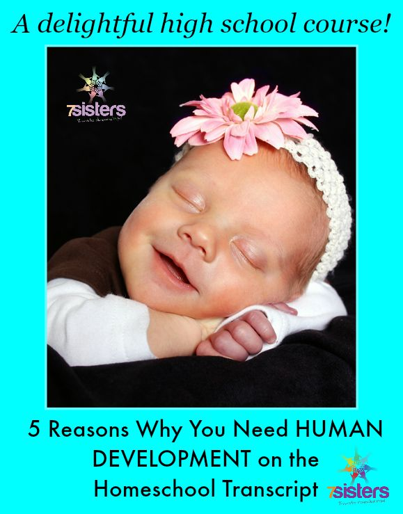 5 Reasons Why You Need Human Development on the Homeschool Transcript