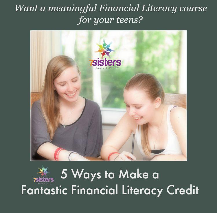 5 Ways to Make a Fantastic Financial Literacy Credit