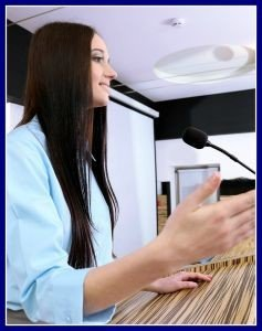 Gain confidence in public speaking with 7 Sisters Homeschool's Speech I