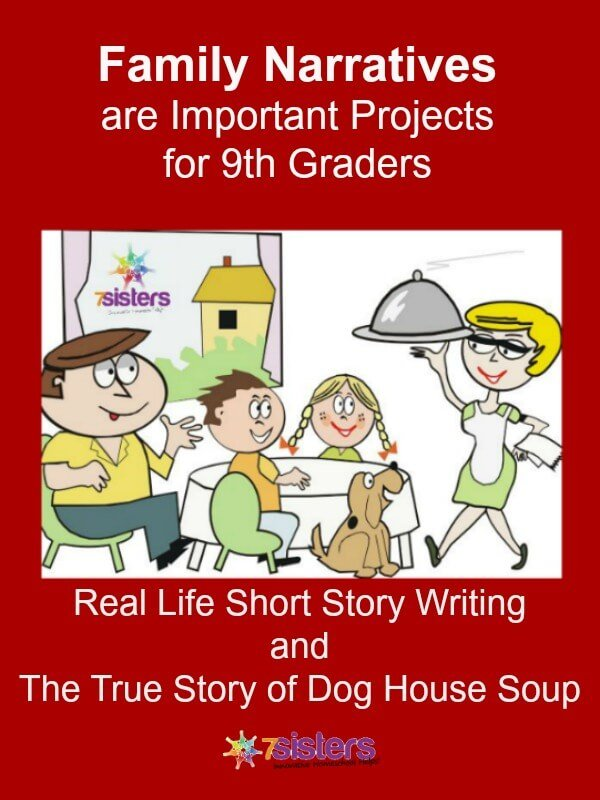 Real Life Short Story Writing for Teens from 7SistersHomeschool.com