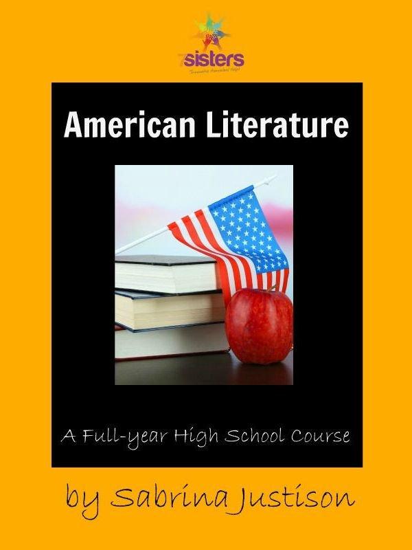 American Literature from 7SistersHomeschool.com