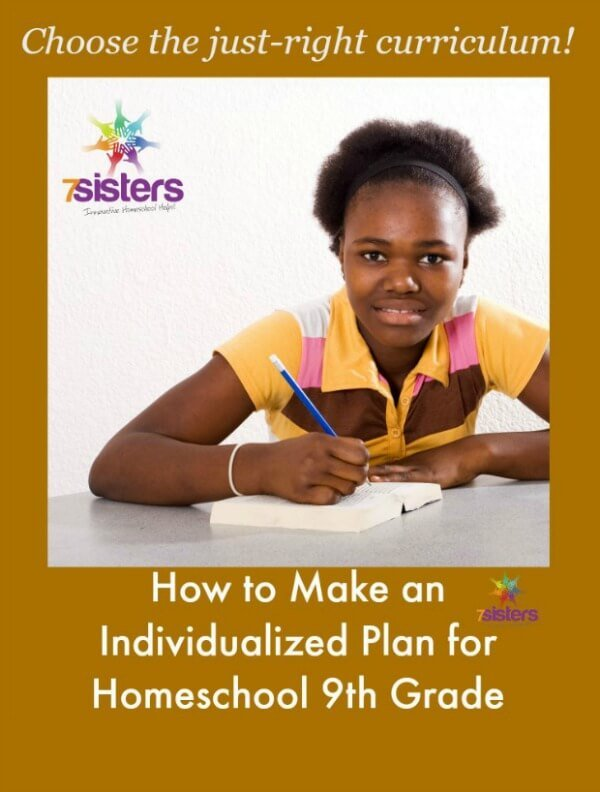 How to Make an Individualized Plan for Homeschool 9th Grade