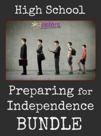 Preparing for Independence BUNDLE 7SistersHomeschool.com