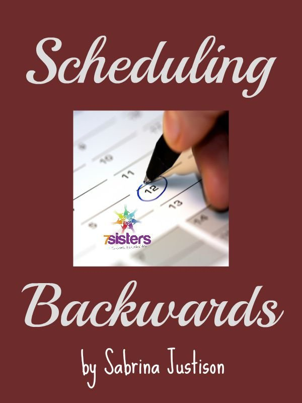 Scheduling Backwards 600x800