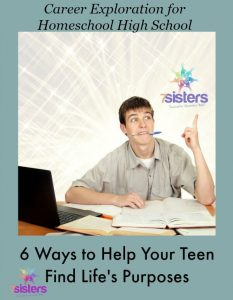 Career Exploration for Homeschool Teens: 6 Ways to Find Your Purpose 7SistersHomeschool.com