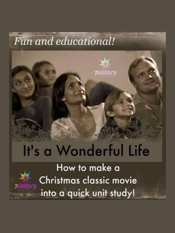 How to Make Its A Wonderful Life Into a Quick Unit Study