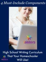 4 Components of a High School Writing Curriculum That Your Homeschooler Will Like